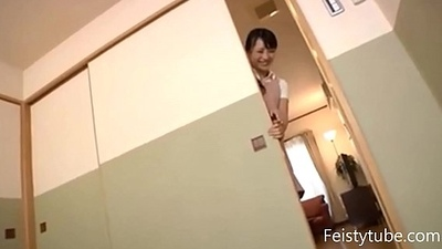 naughty Japanese mom gets fucked -Feistytube.com