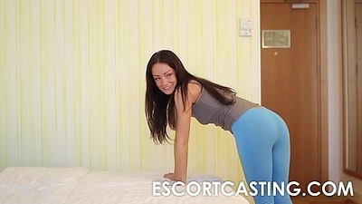 Petite Milf Wants To Shrink from Escort And Is Secretly Filmed