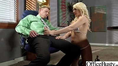 (kagney linn karter) Naughty Sluty Busty Girl In Office Sex Action movie-21
