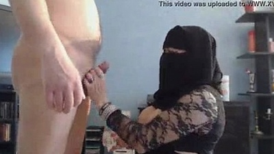 Self shot pakistani hijab nude for tweak in move the bowels