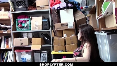 Shoplyfter - A Hard Thing embrace Punishment For Rebelious Legal age teenager