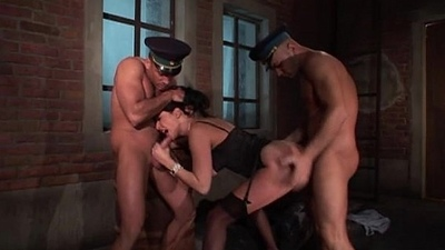 Laura Perego with 2 great Dicks