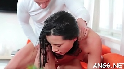 Smitten by beautys moist licking