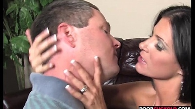 Titillating HotWife India Summer Gets Fucked By BBC While Cuckold Watchingd Obeying