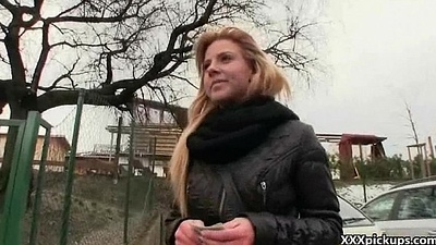 Public Sex For Some Money With Teen Dilettante Euro Slut 10