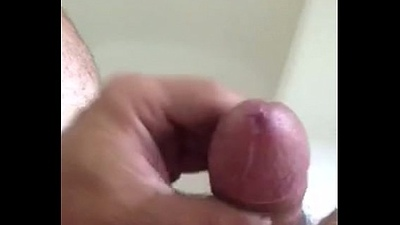 pre cum from edging my fat cock