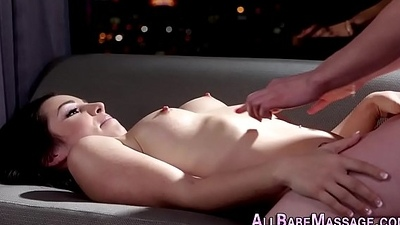 Hooters masseuse tongued