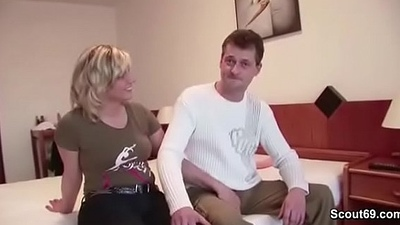 German Matriarch and Dad in First Time porn Movie be advantageous to Money