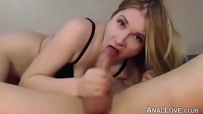 Hot Floozie Homemade Anal